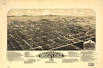 map of greeley 1882