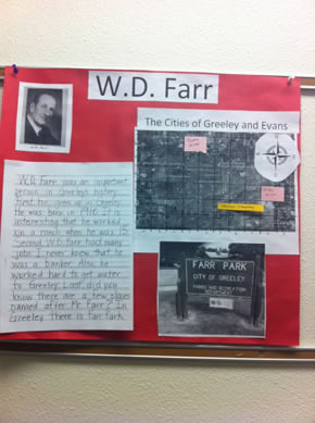 WD Farr Poster