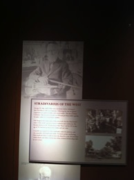 Display about George W. Fisk