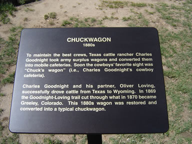 chuckwagon sign